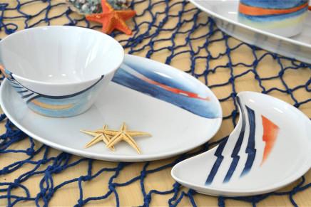 """Da ANCAP le porcellane """"Sensazioni di Mare"""" per la tavola dell'estate"""