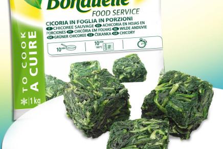 Per i ristoratori da Bonduelle: cicoria in foglia surgelata già in porzioni