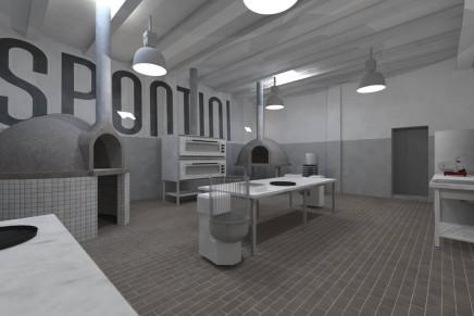 """Aperta a Milano la Spontini Factory, scuola per diventare perfetti pizzaioli e camerieri """"Spontini"""""""