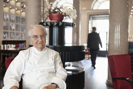 Gualtiero Marchesi lascia la carica di Rettore di Alma