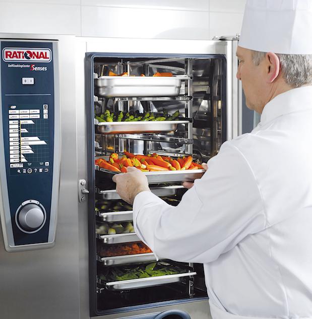 Forno rational produttivit a portata di tasto - Forno per cucina componibile ...