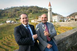 Da sinistra: Floriano Zambon, Luciano Fregonese