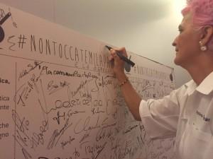 bowerman firma #Nontoccatemilapadella