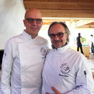 Franco Pepe e Marco Sacco, presidente CHIC s