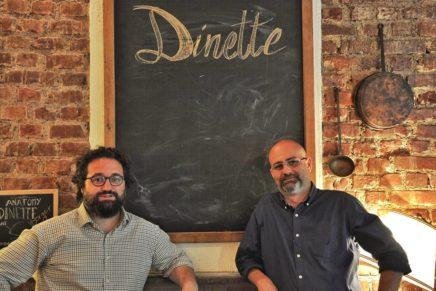 Da Dinette, menu da condividere, anche a mezze porzioni