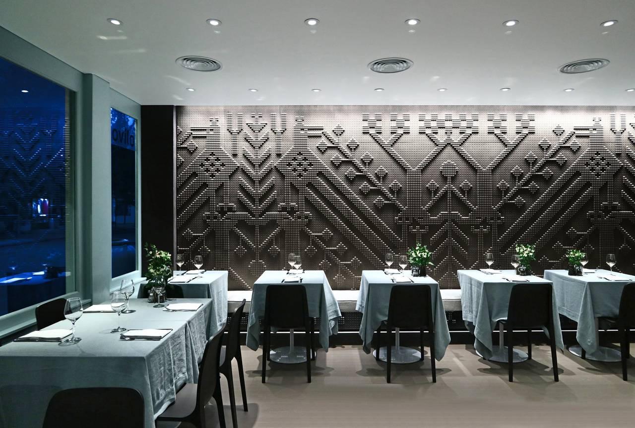 I rivestimenti tecnologici al ristorante