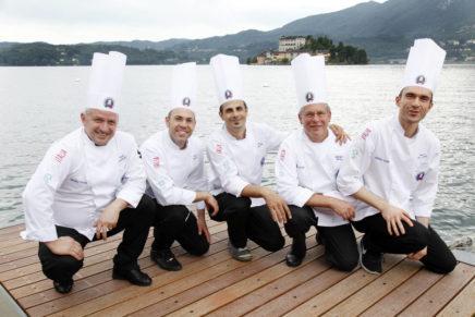 Il Giro d'Italia 2017 di Apci porta a Verbania 5 chef per un educational dinner