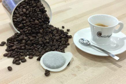 Caffè del Caravaggio presenta la sua cialda in carta ecologica 100% compostabile