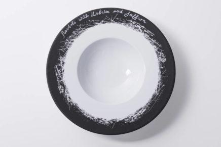"""Rosenthal presenta ai ristoratori Ardesia, il piatto """"parlante"""""""