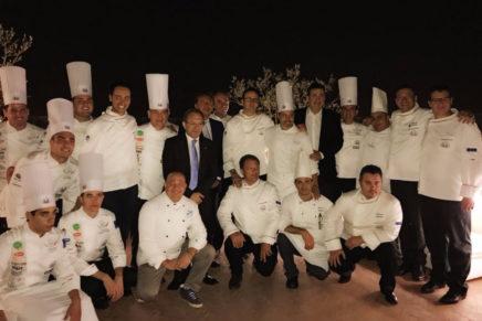 Roma: Presentata al Boscolo Hotel Exedra la Nazionale Cuochi per la Culinary World Cup 2017