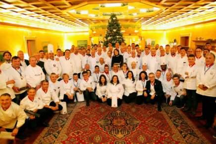 """Successo a Trento per la 20ma edizione del Congresso Nazionale """"Les Toques Blanches d'Honneur"""" di Apci"""