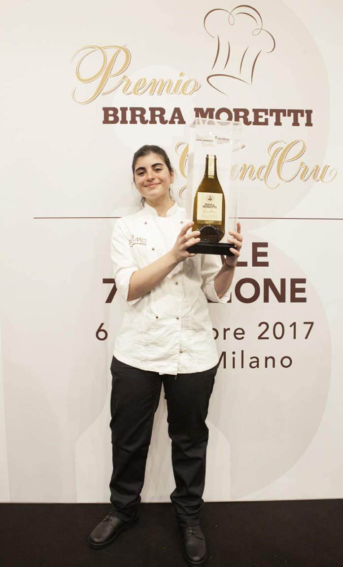 Solaika Marrocco, vincitrice 2017 del Premio Birra Moretti Grand Cru