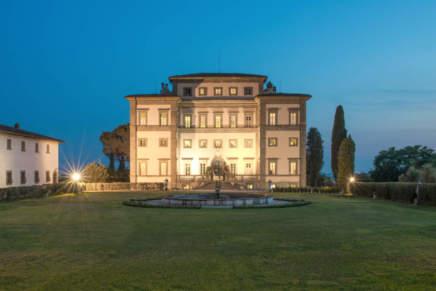 Il maestro nella dimora storica raddoppia il business: Igles Corelli e Villa Rospigliosi