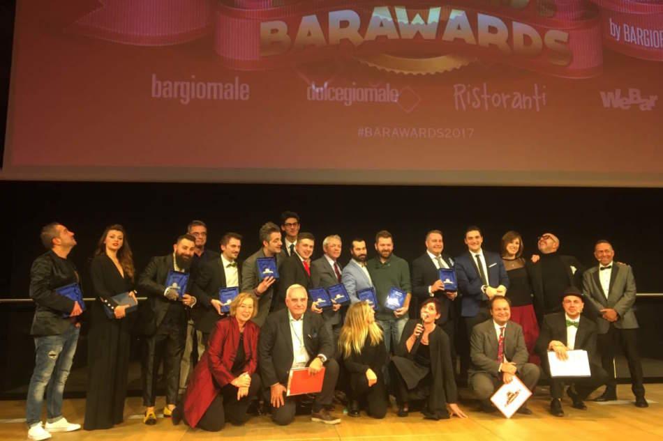 Pioggia di premi a Barawards 2017. Ecco i vincitori
