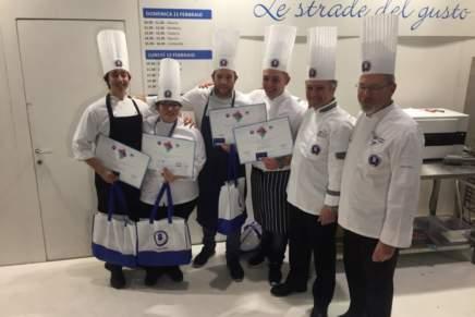 Giovani cuochi sul podio del Young Chef Mystery Team