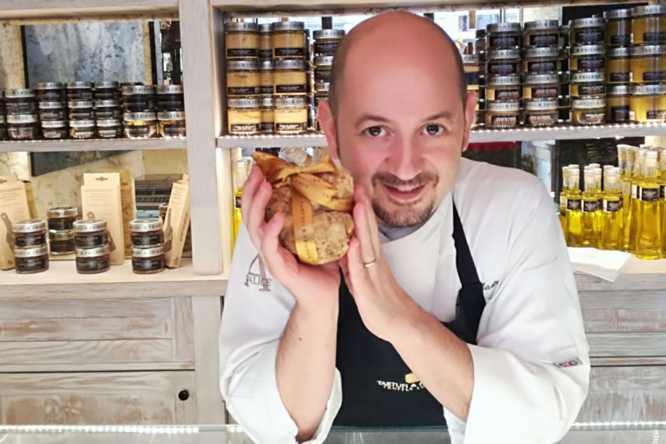 La cucina a base di tartufo dello chef Luca Mauri