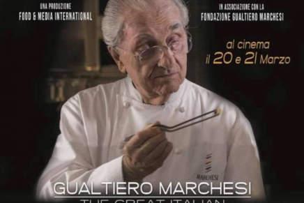 Esce il film su Gualtiero Marchesi, al quale siamo tutti debitori