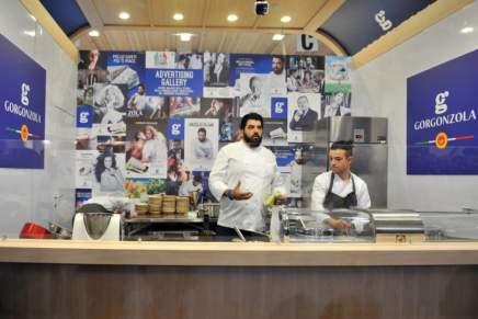 A Cibus il Gorgonzola propone nuove ricette degli chef Cannavacciuolo e Cravero