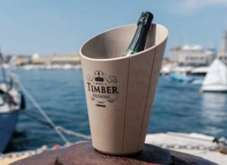 secciello italesse timber bucket