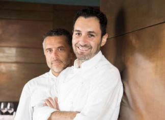 Gli chef Perbellini e Cacciapaglia
