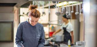 Serena D'Alesio, chef e patron del Marchese del Grillo di Fabriano (An)