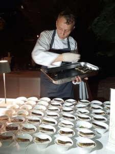 Oliver Glowig, chef della Locanda Petreja di Todi